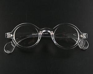 Transparent clear Round Reading Glasses +1 +125 +2.5 +1.5 +1.75 +2 +225 +3 +325