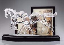 Swarovski Crystal 2001 WILD HORSES LIMITED EDITION SCS 9859/10000 MIB-COA 236720