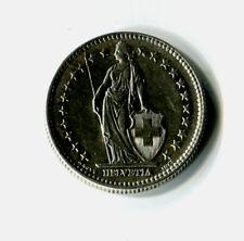 2 Franken Schweiz 1960 B Stehende Helvetia Silber M_1096