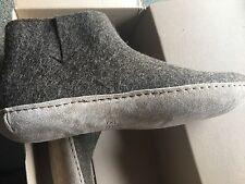 Glerups Low Boot Slipper Brown 43 men's size 10