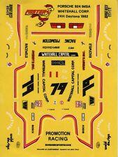 PORSCHE 924 IMSA N°79 WHITEHALL  24 H DAYTONA 1982  FASTER43 DECALS 1/43