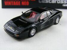 Ferrari Testarossa in schwarz, Tomytec Tomica Limited Vintage Neo,1/64