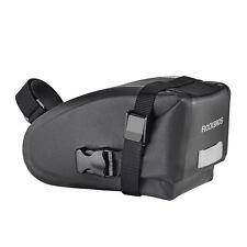 RockBros Cycling Rainproof Saddle Bag Reflective Rear Seatpost Bicycle Bag Black