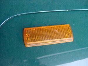 VG Used LUCAS LH Front Side Marker Lenses Triumph TR7 TR8 Left Hand