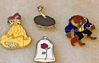 Disney Pin 120469 DLP - Beauty and the Beast Booster Set Babettte rose Belle