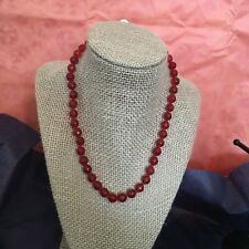 Natural RawFaceted Ruby Necklace 18 Inches