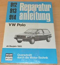 VW Polo 2 II 86c ab Baujahr 1985 Weber Handbuch Reparaturanleitung B912 OVP
