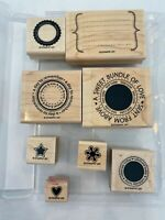 Stampin' Up!  Sweet Celebrations - Set of 8 Stamps - Scrapbooking  Crafts  Cards