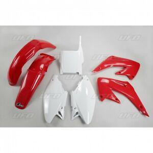 kit plastiche carene Ufo Honda HM Cre 50 Baja 2003 2004 2005 rosso bianco Cr