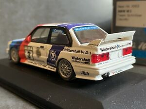1:43 MINICHAMPS BMW M3 Team Schnitzer #3 CECOTTO DEKRA MODEL CAR *RARE* BOXED