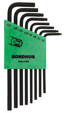 TR6-TR25 Tamper Resistant Torx® 8pc L-Wrench Set ProGuard Bondhus USA EDP# 32432