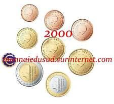 Série 1 Cent à 2 Euro BU Pays-Bas 2000 - Brillant Universel