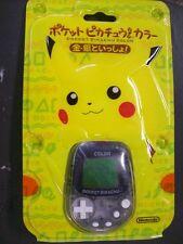 Color Pokemon Licensed Virtual Pet Tamagotchi Pocket Pikachu Japan 2 New Sealed