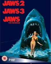 Jaws 2 / Jaws 3 / Jaws The Revenge [Box Set] Dennis Quaid, Bess Armstrong [DVD]