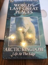 Nat. Geographic VHS Worlds Last Great Places Arctic Kingdom Life at the Edge