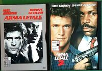 ARMA LETALE (1987) + ARMA LETALE 2 (1989) 2 DVD, CUSTODIA SNAPPER CASE - WARNER