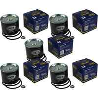 5x SCT Kraftstofffilter ST 702 Fuel Filter