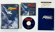 Fujitsu FM Towns CD-Rom AIR COMBAT II SPECIAL SystemSoft 1993 jap. OVP