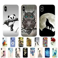 For iPhone 11 Case Silicone Soft Cartoon Printed Luxury fashionable TPU Cover