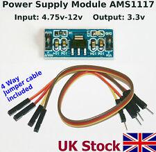 3.3v AMS1117 Power Supply Module Regulator step down (4.75v-12v To 3.3v)   - UK