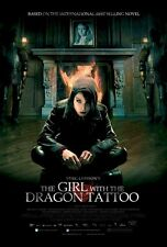 GIRL WITH THE DRAGON TATTOO ~ SIT 27x40 MOVIE POSTER Noomi Rapace Stieg Larsson