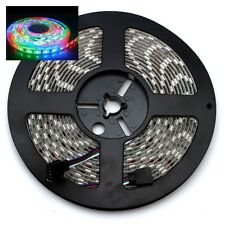 RGB 5050 5M 300 SMD Waterproof LED Light Strip + 44 Key IR Remote + 12V Power