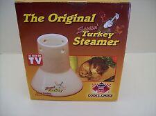 The Original Sittin Turkey Steamer Tasty Juicy Oven Baked Or Grilled Turkey