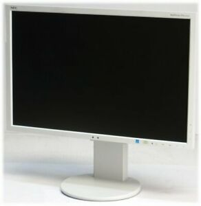 "24"" TFT NEC MultiSync EA243WM Pivot 1920x1200 FullHD HDMI DisplayPort Monitor"