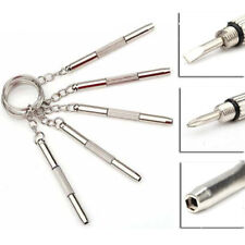 Multifunction Portable Combination Tool Screwdriver Mini Keychain Key Ring Clasp