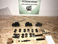 PIKO H0 20 x Ersatzteile Antriebachsen, Räder, Zahnräder  usw. ZB82 J120