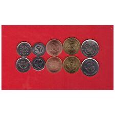 LEBANON 25 50 100 250 500 LIVRES 1996-2012 UNC COIN SET OF 5