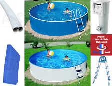 Pool Stahlwandbecken Rund Set 3,60 x 0,90 m Filteranlage Leiter Komplettset