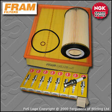 SERVICE KIT BMW 5 SERIES 535I E39 FRAM OIL AIR FILTERS NGK PLUGS (1996-1999)