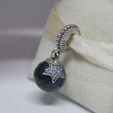 Pandora 791392NBC Moon & Star Midnight Blue Bead Box Included