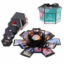 Valentine And Anniversary Surprise Love Explosions Box Scrapbook Photo Album New