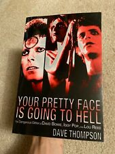 Your Pretty Face Is Going to Hell book David Bowie Iggy Pop Lou Reed Stooges oop