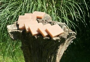 Rose Geranium Natural Handmade Guest Soaps/ Favours Set of Eight 20g Bars