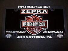 Zepka Harley-Davidson Licences Plate and Licence Frame