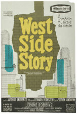 c. 1960s French West Side Story Poster