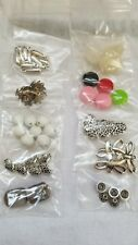 Assorted Lot of Mixed Jewelry Making Supplies Crafts Pendants Misc Lot 4
