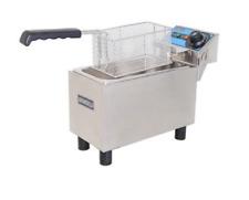 New 1 Basket Counter Top Deep Fryer Electric Uniworld Uef 061l 3870 Commercial