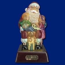 Merck Old World Christmas Santa Lamp Night Light Wishes and Dreams 2014