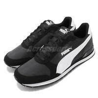 Puma ST Runner V2 NL Black White Men Women Unisex Running Casual Shoes 365278-01