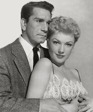 Anne Baxter, Richard Conte - The Blue Gardenia (1953)   - 8 1/2 X 11