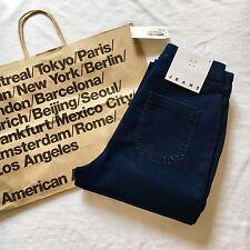 American Apparel Easy Jean Jeans Leggings Dark Wash Indigo Rinse XXS Sold Out