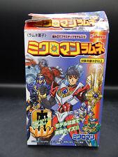 1999 original MICROMAN Takara EDISON Kabaya candy toy figure Japan +BOX Japanese