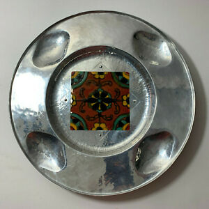 Beautiful Hand Crafted Cellini Craft Platter with Tile
