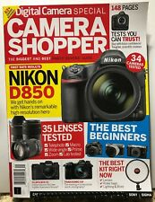Camera Shopper Digital Camera Special Nikon D850 Issue 22 2019 FREE SHIPPING JB