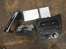 2008 HONDA CIVIC MK8 DVD SAT NAV NAVIGATION SYSTEM WITH SCREEN DISC & DRIVE
