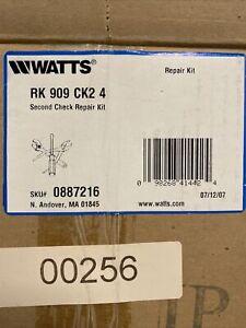 """New Watts (0794102) 909 Backflow Preventer 2nd Check Kit 4"""" MPN LFRK 909-CK2 4"""